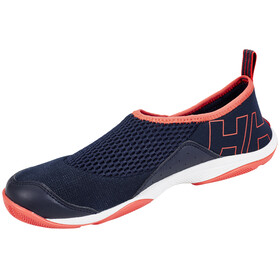 Helly Hansen Watermoc 2 Shoes Women navy / sorbet / night blue